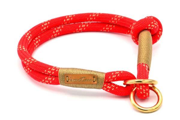 Zugstopp Halsband mit Knoten-Stopp