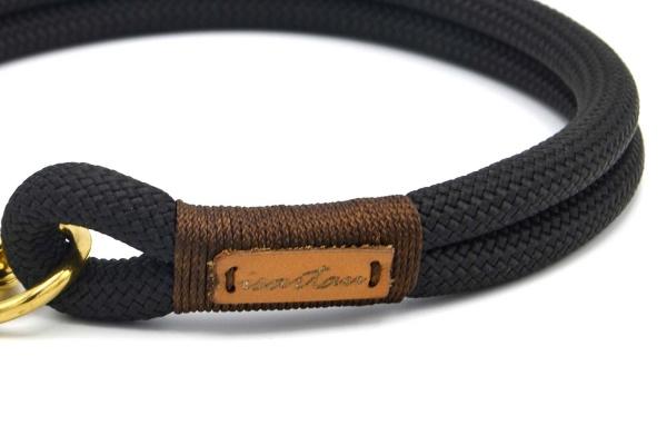 Halsbänder Black Mamba EBONY (Kletterseil)