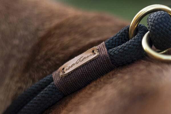 Zugstopp Halsband Black Mamba EBONY (Kletterseil)