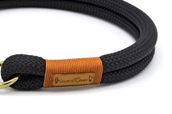 Halsbänder Black Mamba LOTTA (Kletterseil)