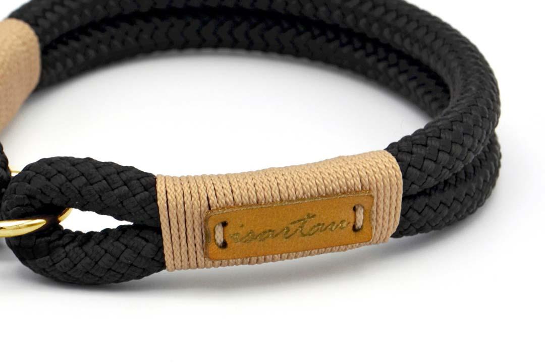 Halsbänder Black Mamba MILA (Kletterseil)