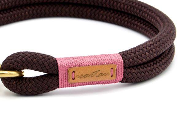 Halsbänder Classy Chestnut CINNI (Kletterseil)