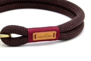 Halsbänder Classy Chestnut DELTA (Kletterseil)
