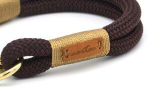 Halsbänder - *Classy Chestnut GOLDNUGGET*