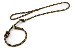 Retrieverleine mit Handschlaufe (ca. 130cm + Halsung) – Softtau