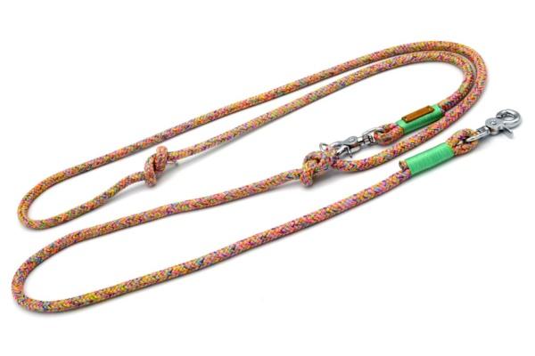 """Umhängeleine 2-fach verstellbar (ca. 250cm) mit Takel """"Mintgrün"""""""