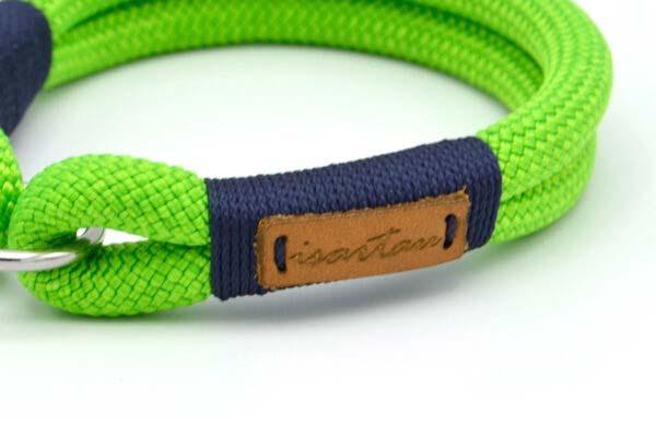 Halsbänder Green Peafowl EDDIE (Kletterseil)