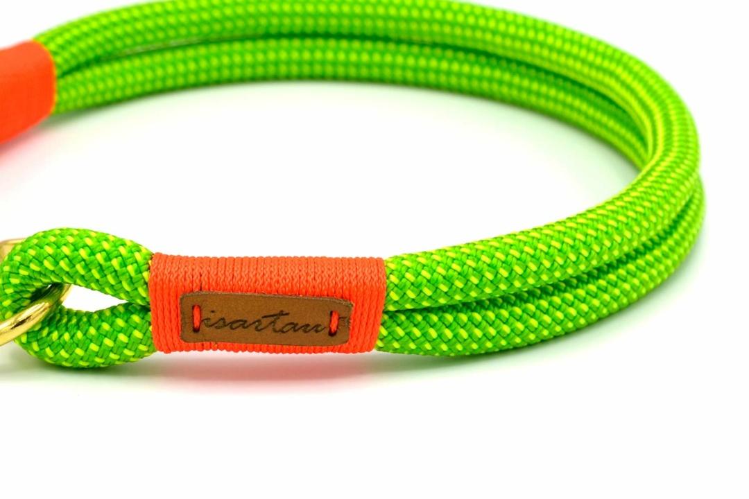 Halsbänder Green Peafowl KARLIE (Kletterseil)