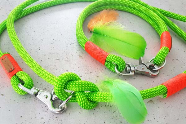 Farbkombination Green Peafowl KARLIE (Kletterseil)