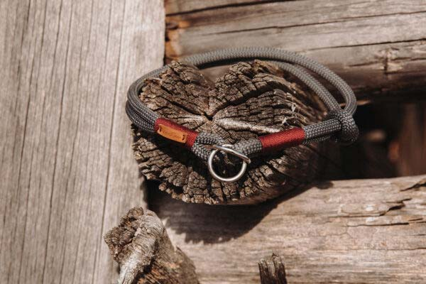 Zugstopp Halsband mit Knoten-StoppHeaven's Rock AYU (Kletterseil)
