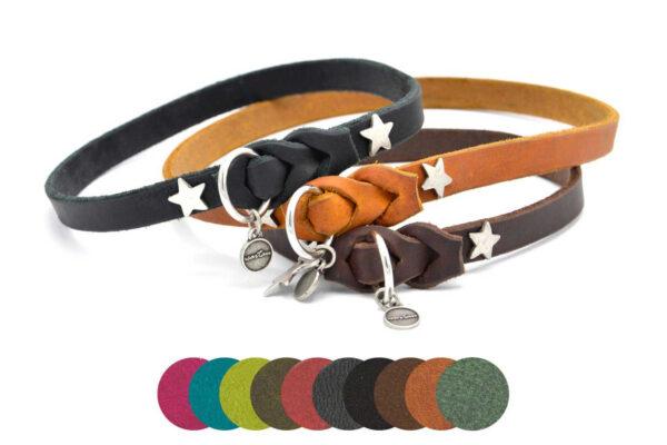 Lederschlupfis DECENT in 9 verschiedenen Farben