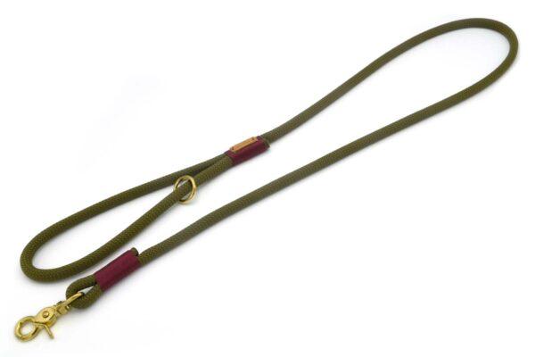 Führleine mit Handschlaufe (ca. 140cm) - Kletterseil 2 Unifarben