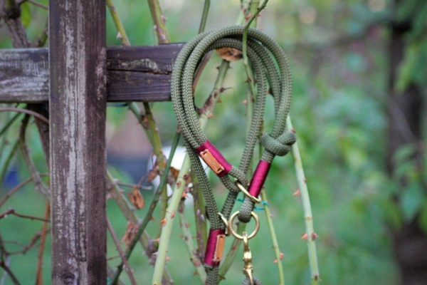 Olive Grove BURGUNDY (Kletterseil Typ )