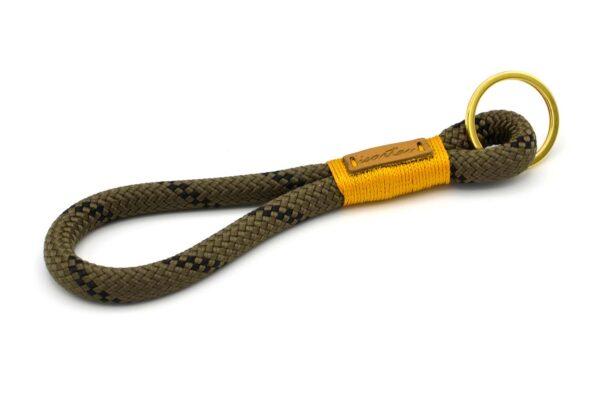 Schlüsselanhänger MAXI - Kletterseil 1 mit Schwarz