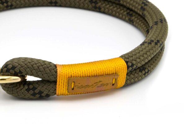 Halsbänder Olive Grove GOLD (Kletterseil 1 )