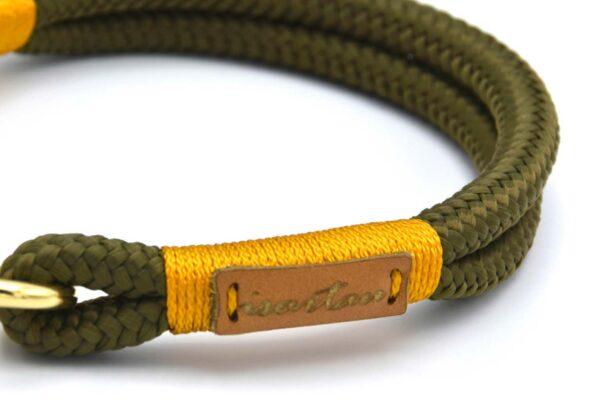 Halsbänder Olive Grove GOLD (Softtau)