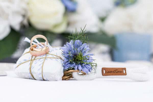 Hochzeit mit unserer Farbkombination Pure Breeze SAY YES