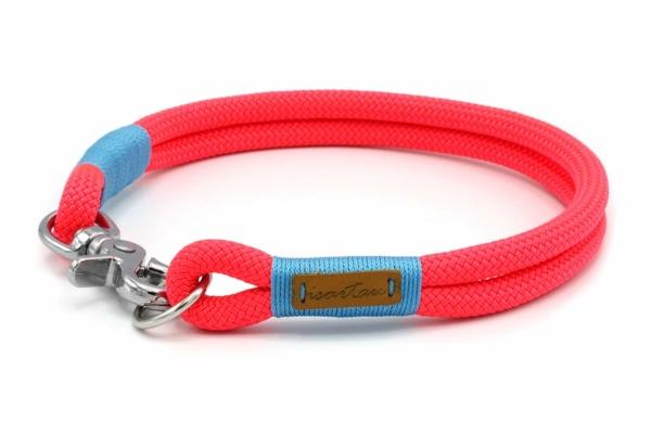 festes Halsband mit Karabinerverschluss, nicht verstellbar – Kletterseil