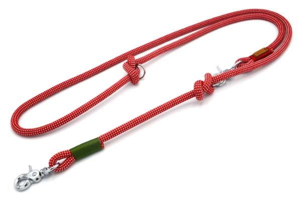 Führleine 2-fach verstellbar (ca. 190cm) - Kletterseil