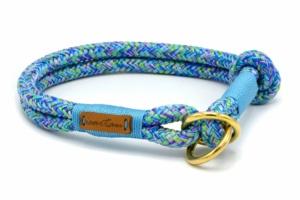 Zugstopp Halsband aus Tau mit Knoten-Stopp - Softtau