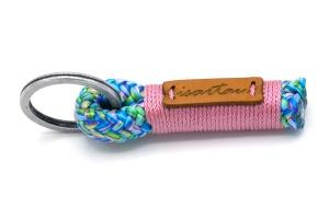 Tau-Schlüsselanhänger SHORTY mit Takel Altrosa