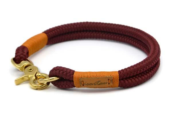 festes Halsband mit Karabinerverschluss, nicht verstellbar