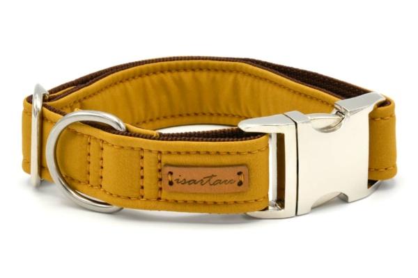 """Halsband """"Softie Adult KARAMELL"""" in 4 verschiedenen Größen, 3cm breit"""