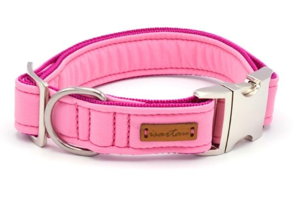 """Halsband """"Softie Adult ROSA"""" in 4 verschiedenen Größen, 3cm breit"""