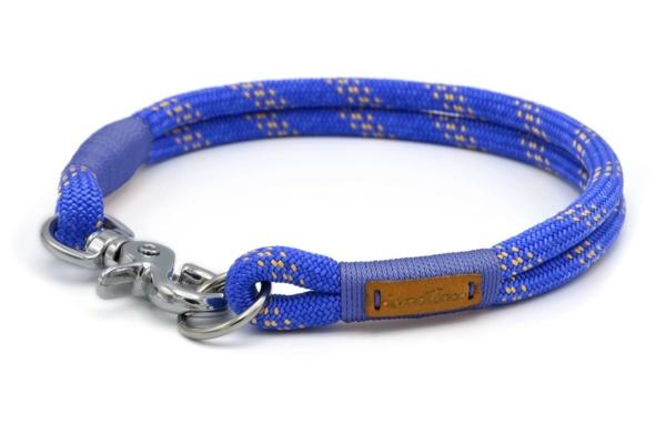 festes Halsband aus Tau mit Karabinerverschluss, nicht verstellbar - Kletterseil
