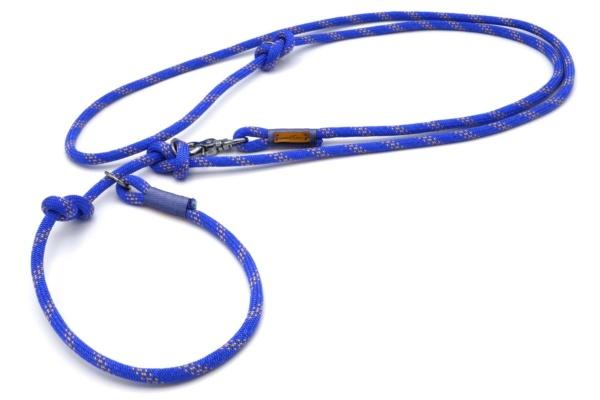 Retrieverleine 2-fach verstellbar (ca. 190cm + Halsung)