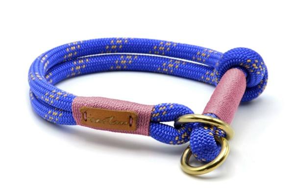 Zugstopp Halsband aus Tau mit Knoten-Stopp