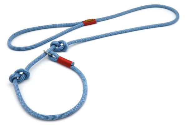 Retrieverleine mit Handschlaufe (ca. 130cm + Halsung) - Kletterseil