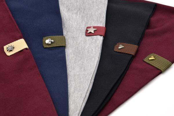 Farben isartau Beanies, Burgunder, Navy, Grau, Schwarz