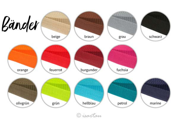 Farben Aufnäher für unsere Beanies