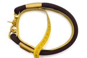 Messanleitung für festes Halsband