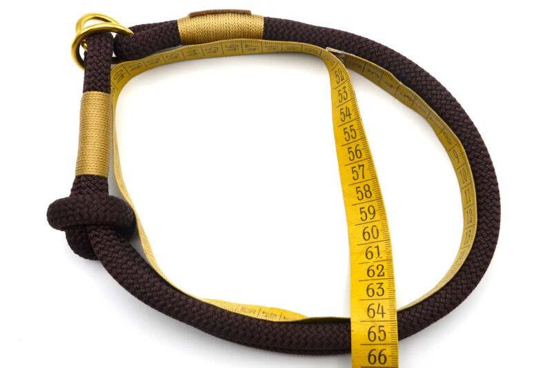 Messanleitung Zugstopp-Halsband
