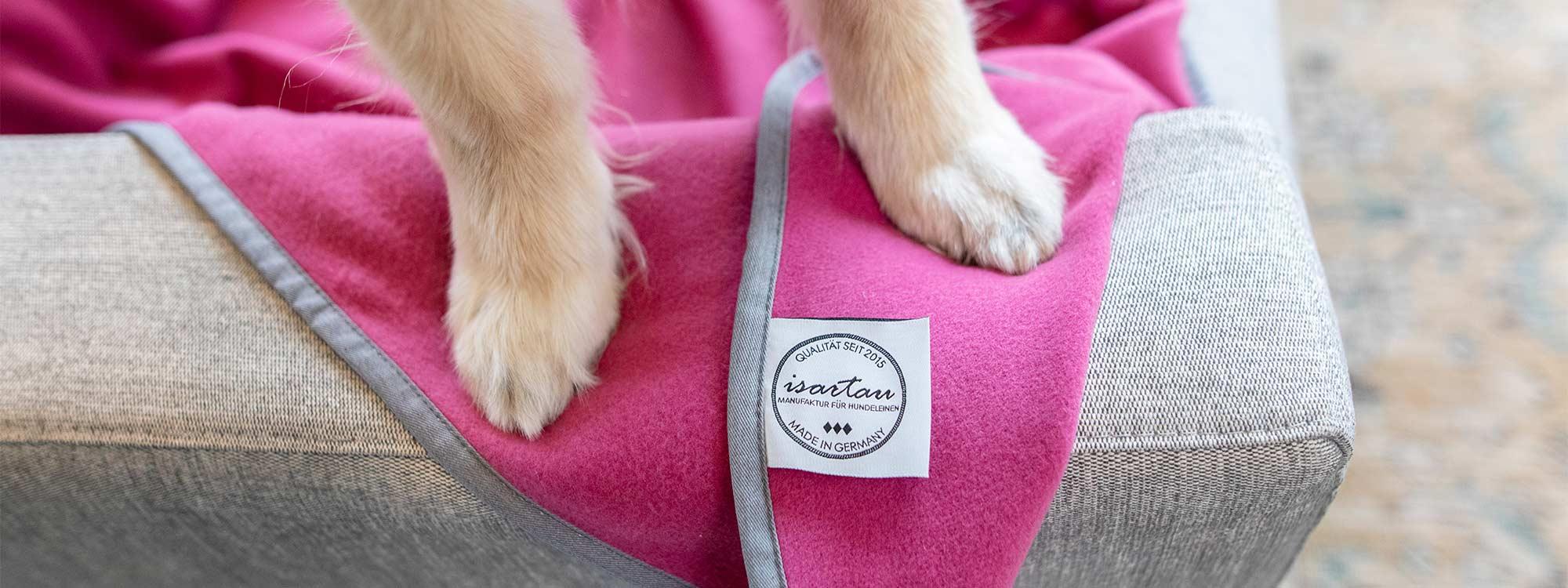 Schmusedecke für Hunde